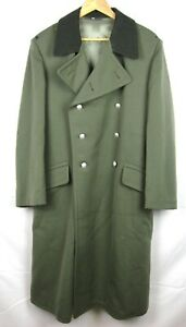 "East German DDR NVA Stasi Greatcoat (Overcoat) 1970 -""DDRII"" Marked - Large K52"