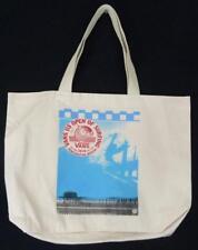 Vans Canvas Tote Bag VUSO Surfing Huntington Beach Pier Bookbag New NWT