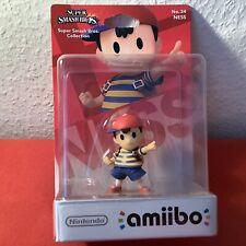 "Nintendo Amiibo ""Ness"" Smash Bros, Earthbound, Mother - OVP NEUWARE SWITCH 3DS"