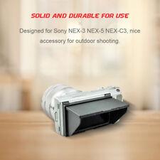 Camera Pop-Up LCD Screen Sun Shade Hood Protector for Sony NEX-3 NEX-5 DSLR DY