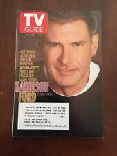 TV Guide Jan. 19-25, 2002 Harrison Ford, I Want My '80s TV! Golden Globes