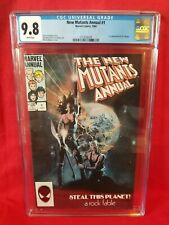 New Mutants Annual 1 - CGC 9.8 - first appearance Lila Cheney
