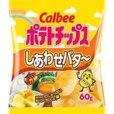 Potato Chips Mascarpone Cheese Butter Honey Parsley Snack Calbee Japan 60g