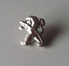 PEUGEOT Lion Logo, Chromé PIN 16x17mm [5710]