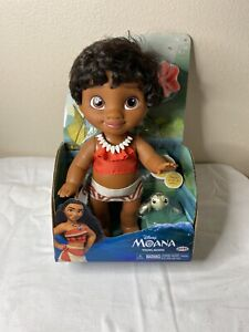 "Disney Young Moana 12"" Toddler Baby Doll NEW"