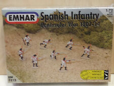 Spanish Infantry Peninsular War 1807-14 Figures  Soldiers  Emhar 1/72 N°7215