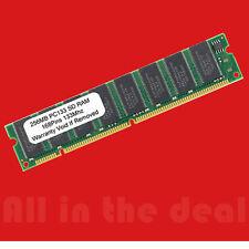 256MB PC133 SD RAM 168 PIN DIMM Low Density Desktop Memory
