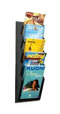 porta brochure da Muro parete a 5 tasche A4 x agenzia viaggi ditta negozio fiera