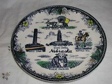 """NEBRASKA  STATE PLATE 9 1/4"""""""