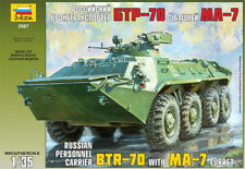 Zvezda 3587 Russian Personel Carrier BTR-70 with MA-7 turret 1/35