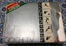 CONSOLE REEL COLORI 6 GIOCHI TV #PONG VARIANT# RETROGAME