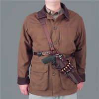 NEW! Galco Kodiak Shoulder Holster (Dark Havana Brown), 8-3/8-Inch S&W N  KK130H