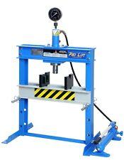 Werkstattpresse Tischpresse 12t manuell Handpumpe blau Lagerpresse SP12HLJ 02247