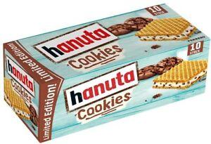 Ferrero Hanuta Cookies - 10 Stück - Waffel - Limited Edition - 220 Gramm