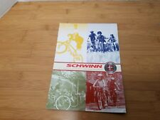 SCHWINN BRAND 2003 BICYCLE CATALOGUE - Vintage Fat Tire Cruisers