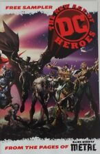 The New Age of DC Heroes Free Sampler Dark Nights Metal SDCC NYCC Terrificon