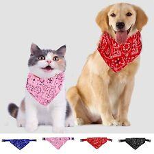 Adjustable Pet Dog collar Puppy Cat Neck Scarf Pet Grooming Dog Bandana Newly v9