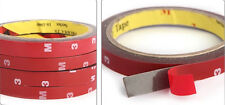 2x Auto Truck Car Acrylic Foam Double Sided Attachment Tape Adhesive 3mx10mm