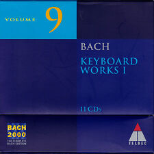 BACH 2000 VOL. 9: KEYBOARD WORKS I Cembalowerke. 11 CDs, gut
