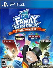 PLAYSTATION 4 PS4 GAME HASBRO FAMILY FUN PACK BRAND NEW AND SEALED