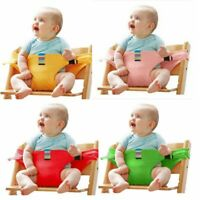 Portable Baby High Chair Booster Safety Strap Seat Belt Protective Activity Tool