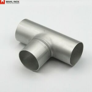 T-Stück lang 1.4301 DIN11852 Edelstahl V2A Verbinder metallblank