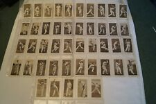 Vintage - Ogdens - Prominent Cricketers of 1938 - Complete Set in Sleeves