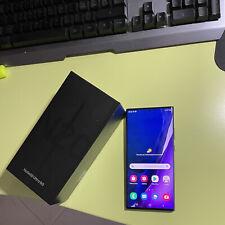 Samsung Galaxy Note 20 Ultra 5g Nero con Fotocamera e Batteria NUOVA.