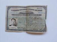 WWII Document 1945 Merchant Marine Seaman Photo Toledo Ohio Photograph SEE STORE