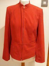 Lovely size 10 Red Edinburgh Woolen Mill EWM Red Jacket style     work   b