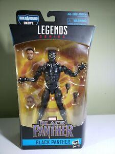 """Legends Series, Marvel Black Panther,""""Black Panther"""" Action Figure"""