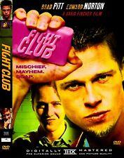 Fight Club (Dvd, 2002, Single Disc) (Brad Pitt / Ed Norton) *Like New*