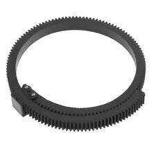 5D2 7D Adjustable Lens Gear Ring Belt Follow Focus Zoom fr DSLR Camcorder Camera
