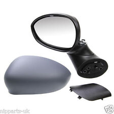FIAT 500 ELECTRIC 2008-ON ELECTRIC DOOR WING MIRROR LH LEFT N/S NEAR SIDE