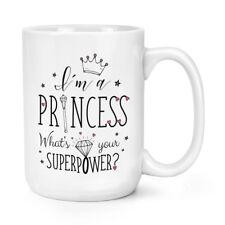 Je suis une princesse Quel est votre puissance 15 oz (environ 425.24 g) Mighty Mug Tasse-Big GRAND COURONNE