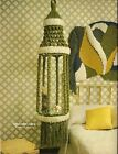 Retro Macrame Cage Hanging Table Pattern - Craft Book: AC1 Accents