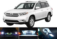 LED for Toyota Highlander Xenon White License Plate/Tag LED Lights Bulbs (2 pcs)