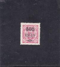PORTUGUESE GUINEA D. CARLOS I SURCHARGED 400 s/ 75 r. (1902)