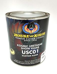 House of Kolor USC01 Kosmic Urethane Show Clear Quart