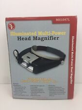SE MH1047L Illuminated Multi-Power LED Head Magnifier