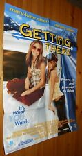 Poster -  OLSEN TWINS - GETTING THERE   - 1993 - Folded