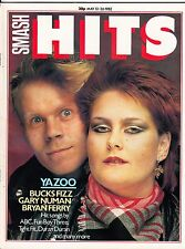 Smash Hits Magazine 13-26 May 1982 - Yazoo - Spandau Ballet - Pop music