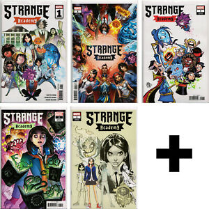 STRANGE ACADEMY #1,2,3-8+++ Variant, Exclusive+ Skottie Young, Ramos ~ Marvel