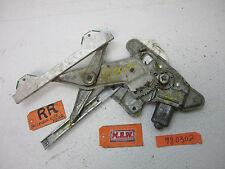 95-01 LUMINA CAR REAR WINDOW MOTOR REGULATOR PASSENGER RIGHT R RH RR DOOR BACK