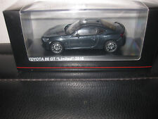 KYOSHO 1/43 TOYOTA 86 GT LIMITED 2016 DARK GREY METALLIC AWESOME MODEL  03895DG
