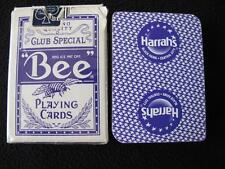 VINTAGE 1990's PACK DECK of CASINO USED PLAYING CARDS - HARRAHS BLACK HAWK