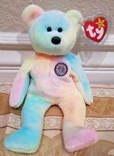 "*RARE* Ty Beanie Baby - Birthday ""B.B. Bear"" Unmarked - MWMT w/Tag Protector"