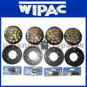 LAND ROVER DEFENDER FRONT SMOKE NAS LED LIGHT KIT - LAMPS, WIPAC