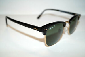 RAY BAN Sonnenbrille Sunglasses RB 3016 901 58 Gr.51 Clubmaster Polarized