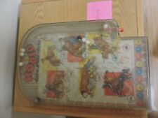 Vintage Rodeo Pinball Marble Game by Wolverine